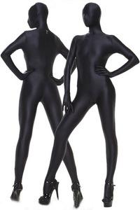 ZENTAI tất cả các bao gồm vớ màu rắn ăn mặc thể dục dụng cụ trang phục sân khấu COS quần áo jumpsuit corset