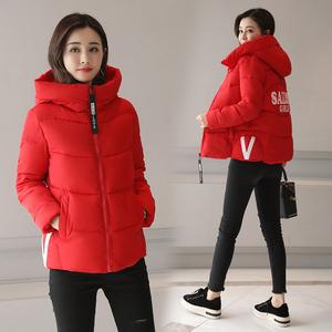 【实拍】冬新款韩版羽绒棉服时尚休闲短款棉衣外套女938