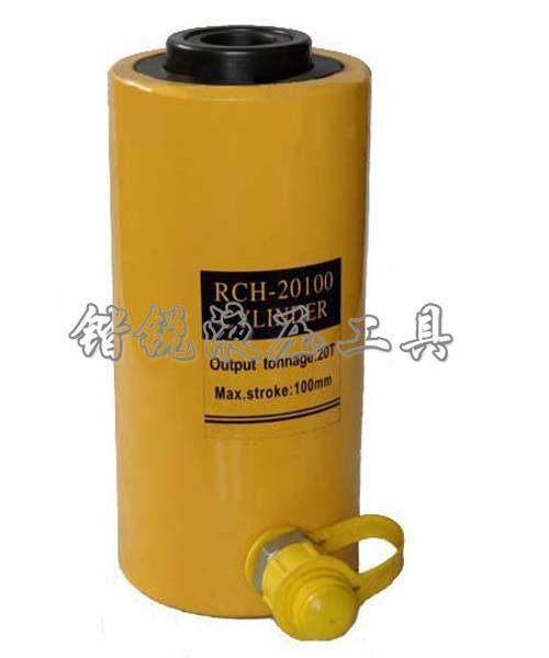 RCH-20100 jack thủy lực rỗng xi lanh điện 20 tấn công cụ nâng 100mm