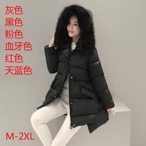 新款2016冬装新款棉服秋冬季短款加厚棉衣棉袄 冬天连帽女外套131
