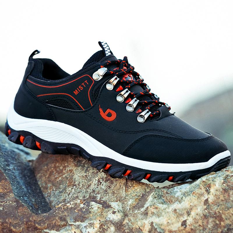2018秋季韩版男士运动休闲跑步潮鞋登山鞋户外运动鞋阿甘男鞋子
