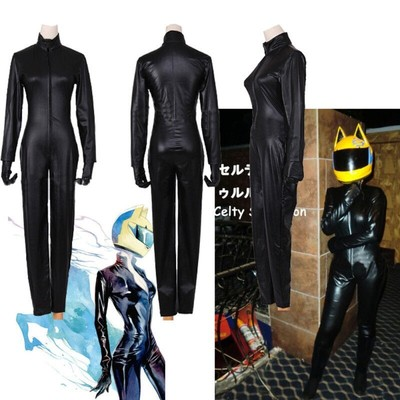 taobao agent Cosplay anime headless knight different smell record Purcell Selti one-piece leather clothing cos clothing custom
