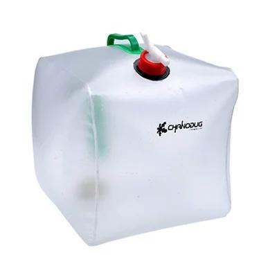 Ngoài trời gấp 20L túi nước gấp dung tích lớn bình chứa nước cầm tay ấm đun nước xô nhựa cắm trại - Thiết bị nước / Bình chứa nước