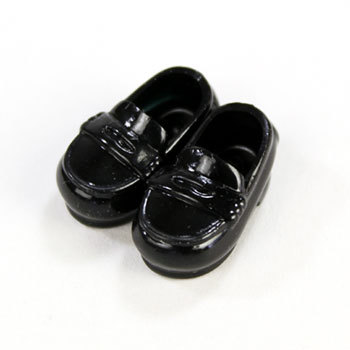 taobao agent [OB]11cm student shoes with magnet at the bottom 2 colors available [11SH-F003] Obitsu from Japan