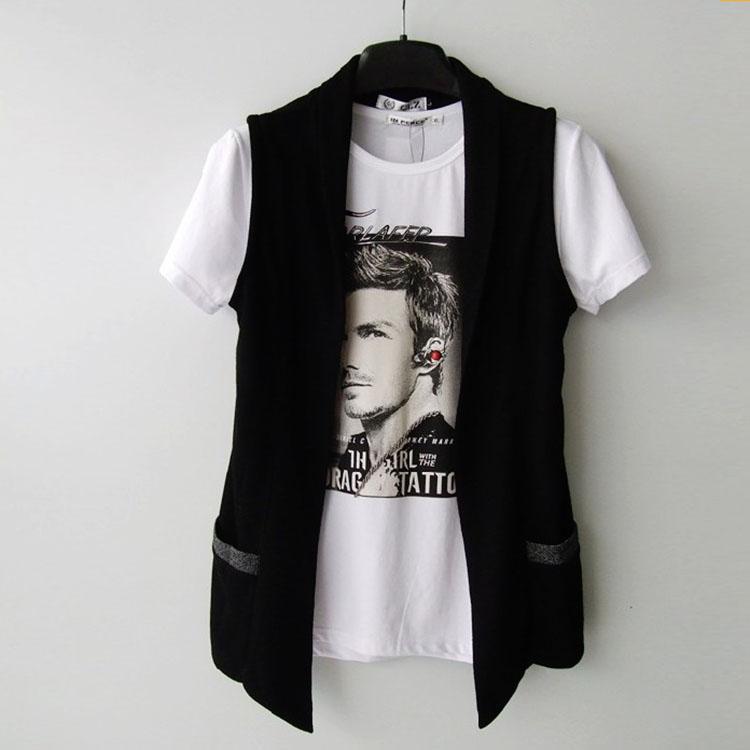 2017 mùa hè mới xu hướng hoang dã của nam giới thường vest mỏng mid-length đan vest nam Hàn Quốc phiên bản của chiếc áo đan len