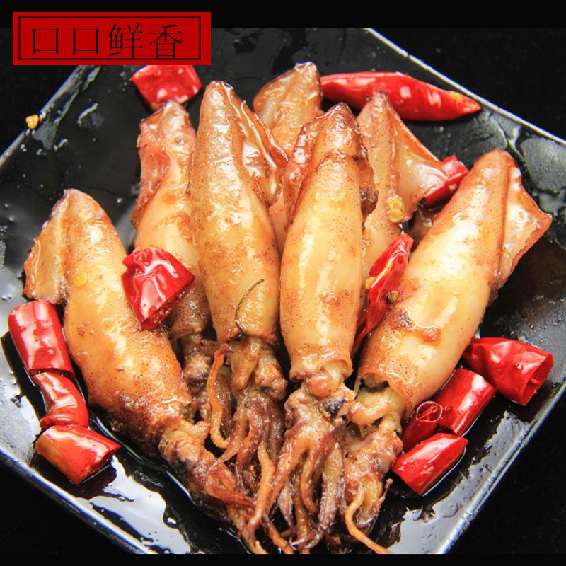 麻辣香辣八爪鱼大爆头海鲜即食