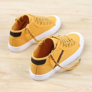 帆布鞋女街拍小白鞋百搭韩版学生平底板鞋
