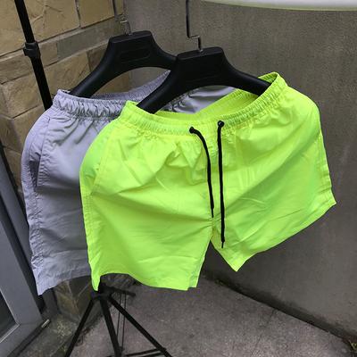 Vài quần short nam quần short mùa hè lỏng thường bãi biển quần thể thao mùa hè quần lớn quần buồn ngủ quần nhà Áo khoác đôi