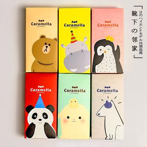 Hàn quốc phiên bản của phim hoạt hình thuyền vớ mùa xuân và mùa hè bông thấp để giúp vớ cá tính vớ dễ thương ladies cotton socks 4 cặp hộp quà tặng