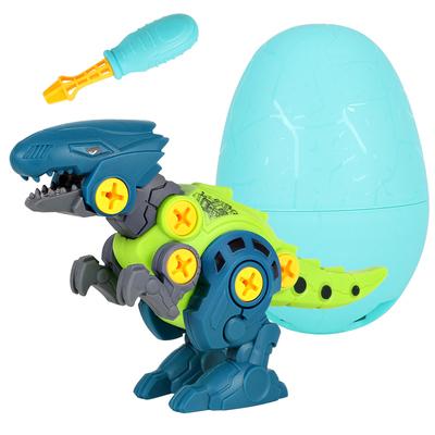 拆装玩具恐龙可拆卸益智拼装工程车组装拧螺丝霸王龙儿童3男女孩6