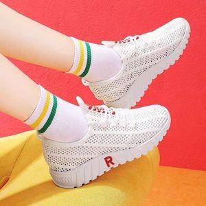 40春夏新款网鞋女士运动鞋韩版百搭休闲鞋透气软底百搭女鞋单鞋
