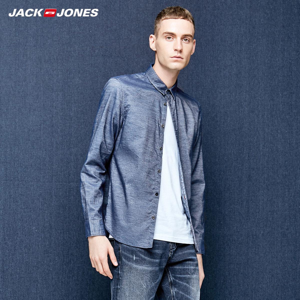 JACK JONES 杰克琼斯 217305511 男士衬衫