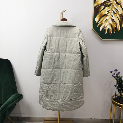 Bread Girls long padded cotton jacket winter new loose ins
