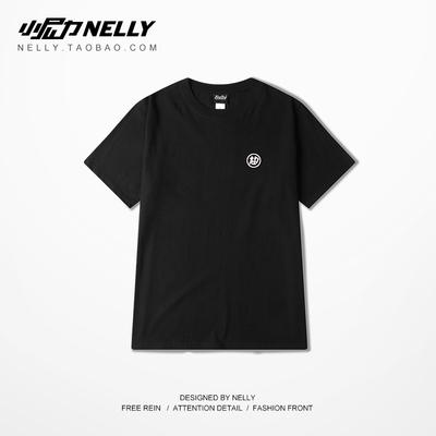 Nhật bản Triều thương hiệu phong cách Trung Quốc retro in ấn nam giới và phụ nữ vòng cổ bông nửa tay áo để tăng người đàn ông giản dị của ngắn tay T-Shirt áo thun nam body Áo phông ngắn
