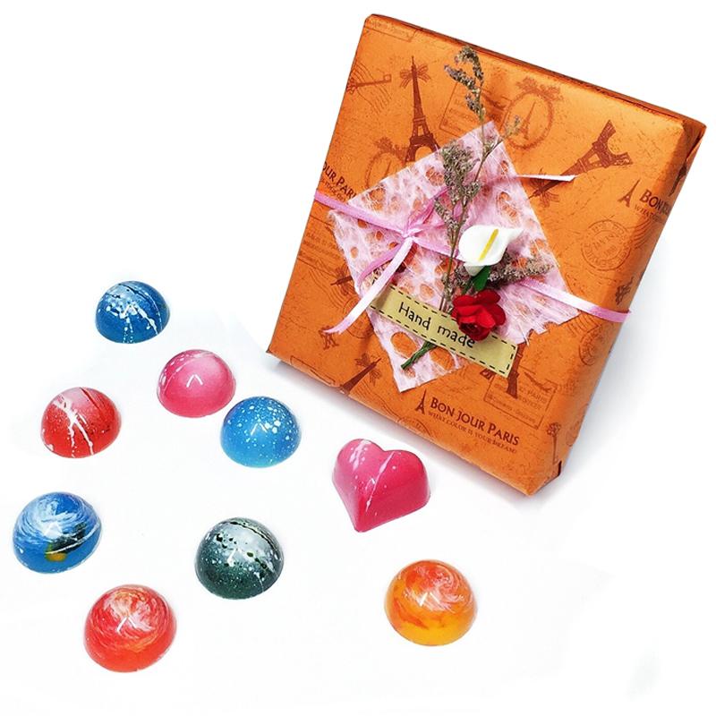 星空巧克力夹心生黑巧克力,情人节生日礼物