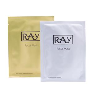 泰国RAY金银色蚕丝面膜保湿补水