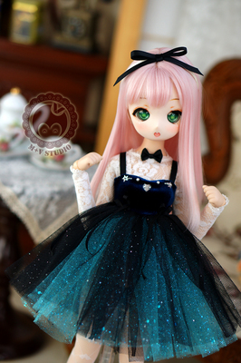 taobao agent 【Meow House】Star small dress daily velvet small dress BJDMSD 4 points giant baby MDD baby clothes