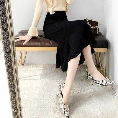 鱼尾裙半身裙秋装年新款女装时尚休闲百搭打底包臀裙子中长款