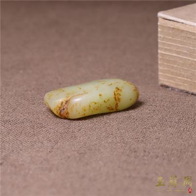 在售少见【玉苏周】苏工新疆天然和田玉籽料原石原籽玩料手把玩件