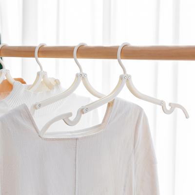 8个装旅行折叠衣架便携衣架多功能衣撑防滑旅行衣挂旅游出差衣架