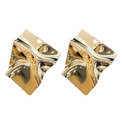 金属大气欧美时尚个性夸张大耳环高级感网红气质女耳坠2019新款潮