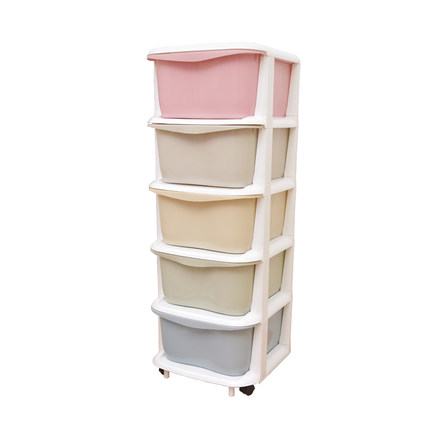 加厚抽屉式收纳柜子塑料自由组合儿童玩具整理柜宝宝衣柜储物柜