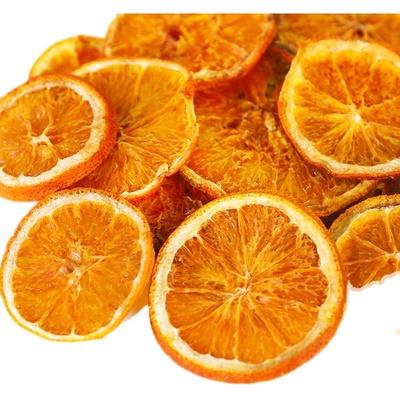 橙子片可食用生日插件摆件