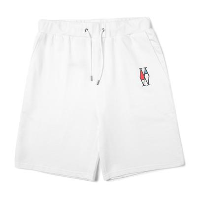 Ww ba màu của nam giới thường quần sọt bột màu xanh trắng