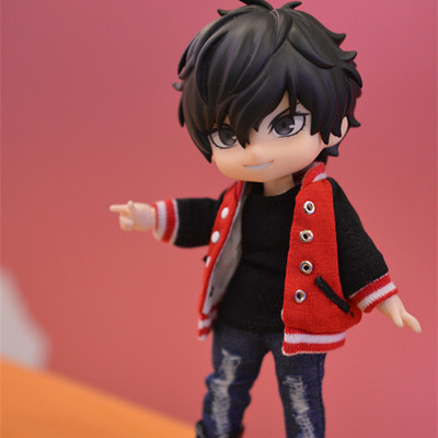 taobao agent {Spot} molly ob11 Meijie pig bjd12 points azone12 points can wear clothes Baseball uniform