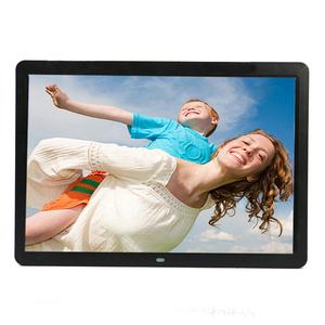 New ultra-mỏng hẹp side 15 inch độ nét cao khung ảnh kỹ thuật số album điện tử hỗ trợ HD 1080 P movie playback