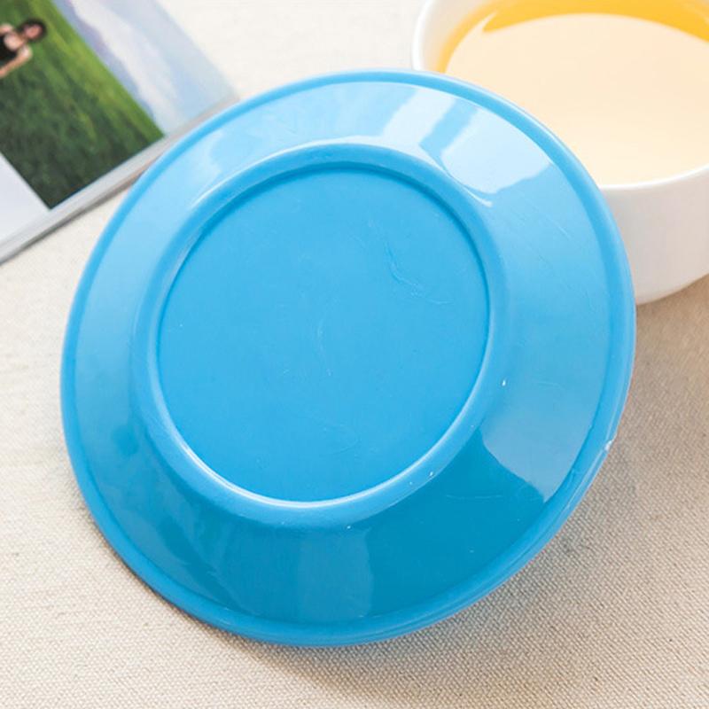 塑料创意盘子 家用装瓜子盘圆形平底个性小碟子小清新糖果盘
