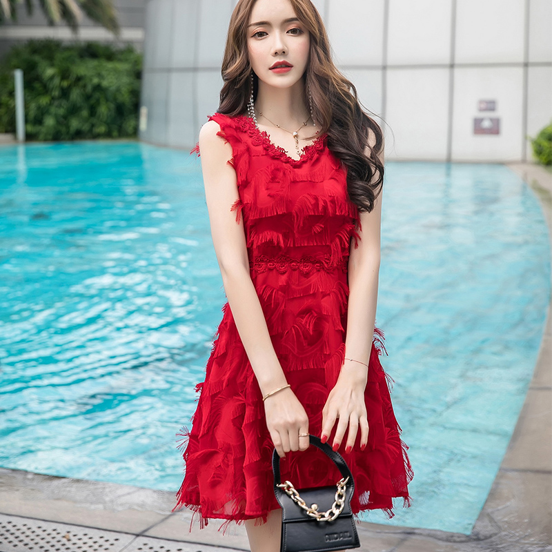 新年就是要穿得红红火火!淘宝必买的【红色连身裙】全都不超过RM40!