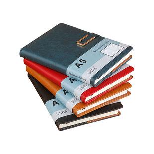 定制A5加厚软皮面笔记本子