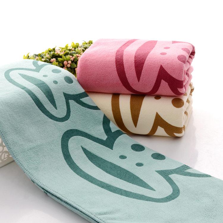 新生宝宝婴儿浴巾超柔软加厚吸水不掉毛成人儿童洗澡大毛巾沙滩巾[券后13.80元]