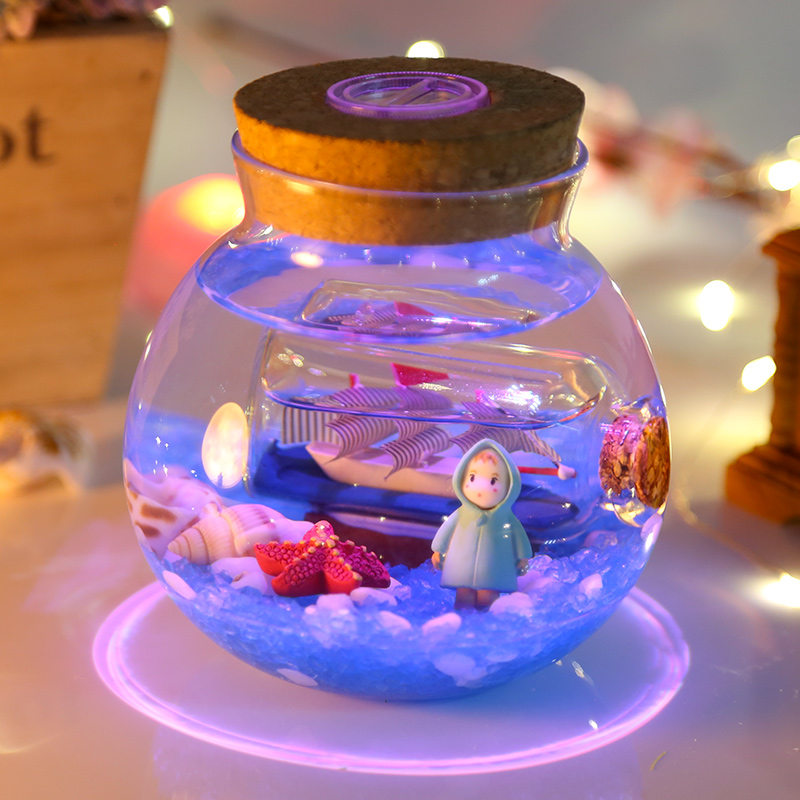 海洋中的世界,送女朋友DIY创意礼品