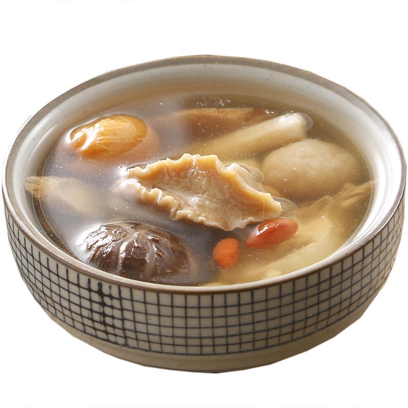 鲍鱼仔花菇枸杞汤养生汤料包煲汤料