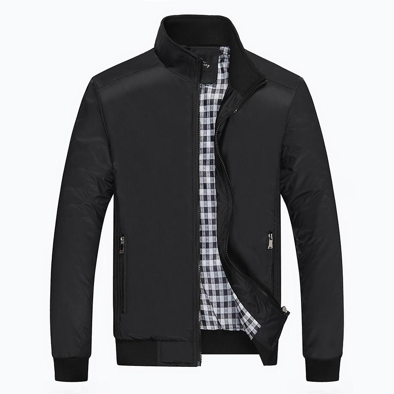 秋冬装外套薄款中年男士春秋款休闲夹克满120元可用100元优惠券