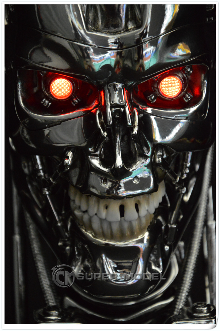 New 1 1 Terminat...T 800 Terminator Skull