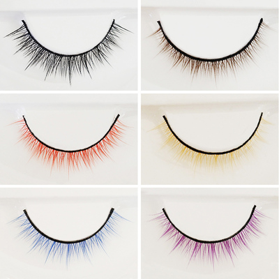 taobao agent BJD eyelashes delivery box, natural type of artificial eyelashes for baby, ten juvenile seven colors 1/6.1/4.1/3 4D eyelashes