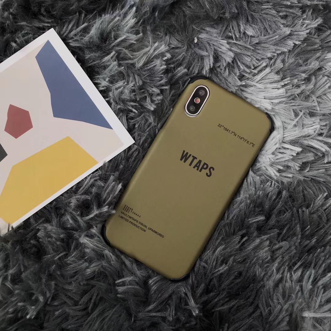 wtaps军风手机壳iPhonexsmax硬壳7Plus/8Plus全包潮男女XR保护套