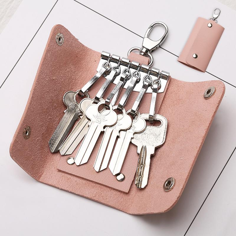 Túi chìa khóa nữ lưu trữ túi Hàn Quốc mini dễ thương sáng tạo đơn giản nhỏ tươi đa chức năng chìa khóa xe túi nam