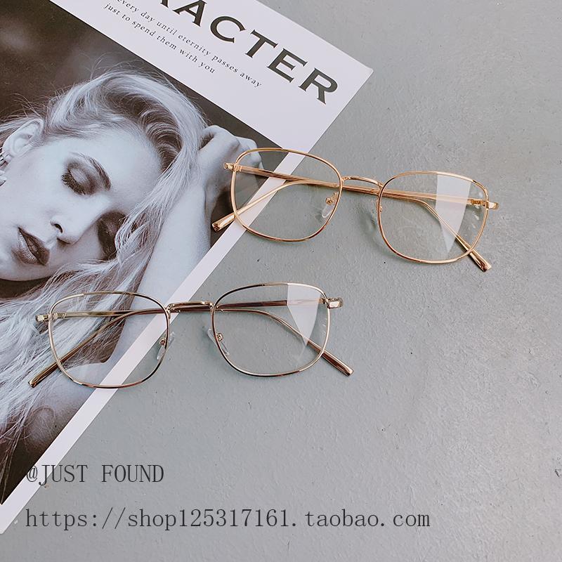 Kính gọng kính nam và nữ Sven nhỏ tươi có thể được trang bị kính cận thị cá tính. - Kính