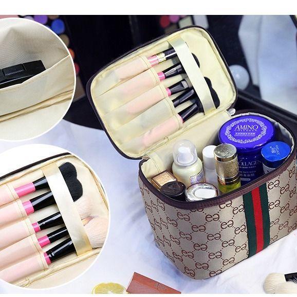 新款韩版化妆包大号大容量防水手提洗漱包收纳化妆品便携旅行包