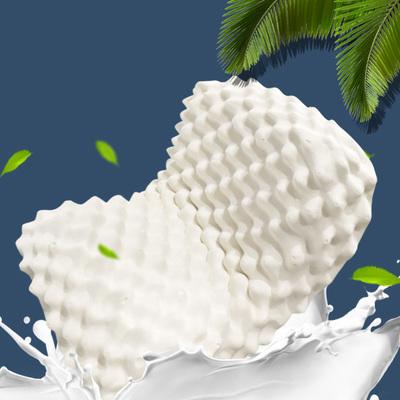 水星罗莱面料供应商,90%乳胶原液:华福定制 大颗粒乳胶按摩枕