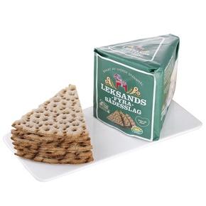 全黑麦燕麦薄脆零食饼干