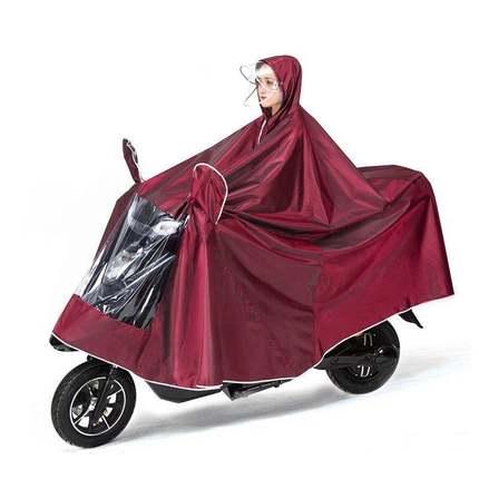 雨衣电动车摩托车电瓶车雨披单双人