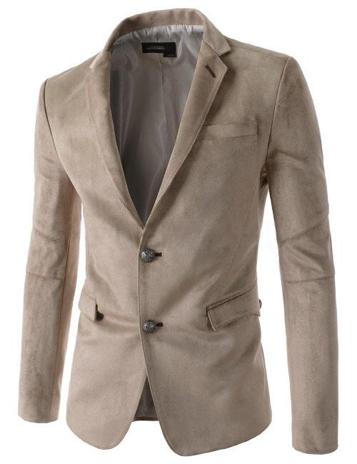 کت و شلوار های  2015 بهار یقه ویژگی های رنگ جدید جیب مردان جیر