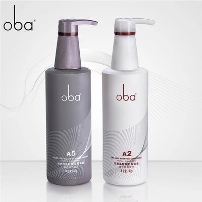 正品oba 欧芭洗发水 欧巴护发素二代A1A2高营养洗护套装 740g专柜