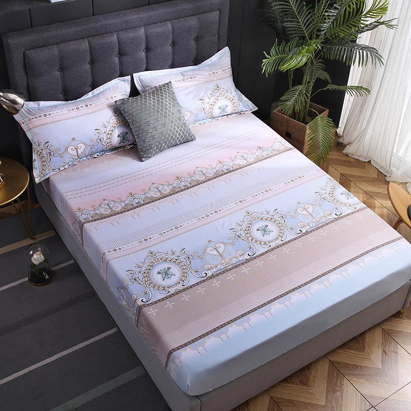 富安那天丝单件床笠可裸睡真丝床单床罩防滑席梦思床罩1.5m1.8m床_领取100.00元淘宝优惠券