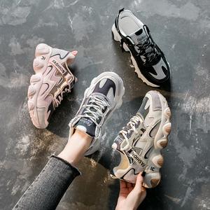 超火的老爹鞋女2020夏季新款透气百搭韩版运动鞋女ins学生跑步鞋